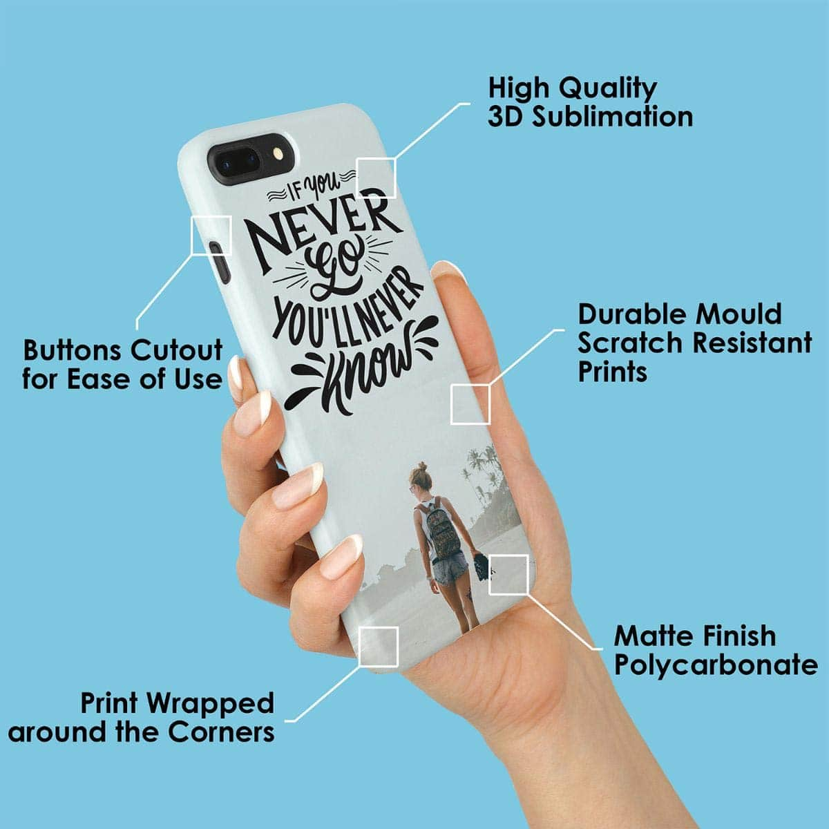 Personalized phone cover