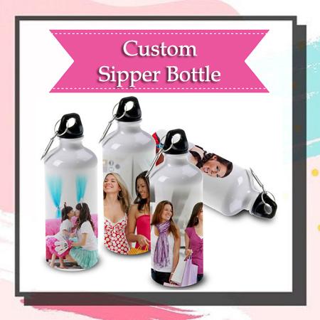 Custom Sipper Bottle