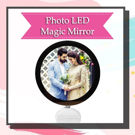 Photo LED Mirror
