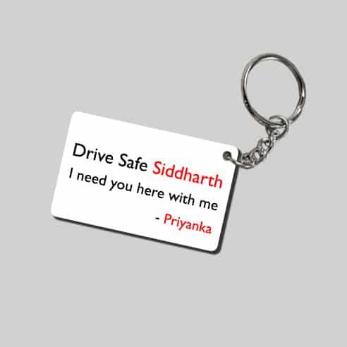 Drive Safe Keychain 2