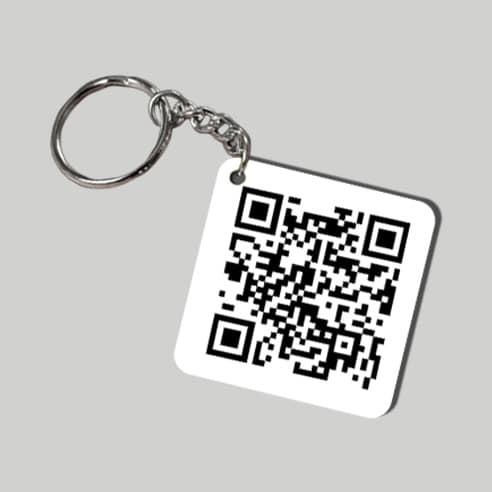 QR Scan Keychain