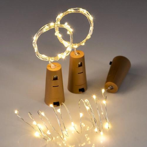 cork fairy light